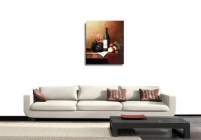 Still Life In A Contemporary Living Room