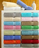 Assorted color towels