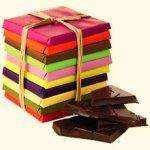 Individually wrapped chocolates