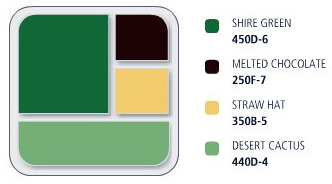 Green and Brown Color Palette