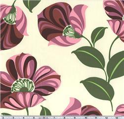 Amy Butler Nigella Twill Grandiflora Maroon
