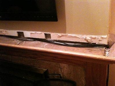 Hiding Tv Cables