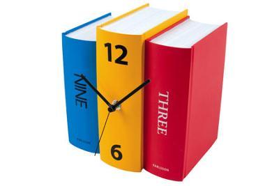 Karlsson Book Clock