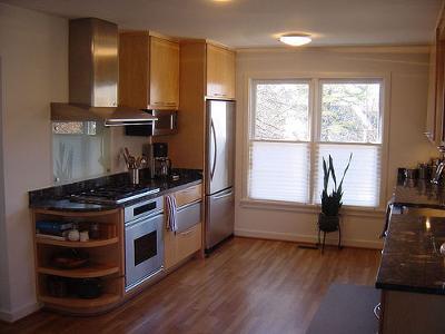 Warm Oak Kitchen