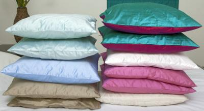 Plain Pillows Ready For Painting