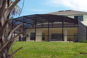 Florida home pool cage