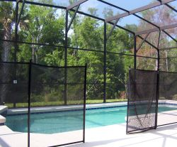 Florida pool safety fence