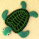 Turtle wall decoration