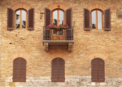 Windows in Tuscany
