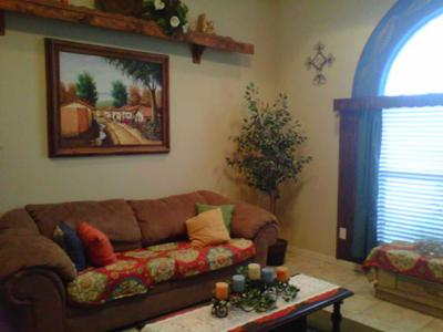 What Color Curtains Would Go In My Mexican Living Room?