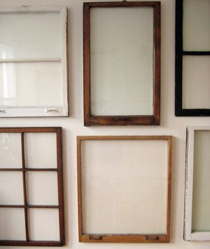 Window Frames Wall Decor