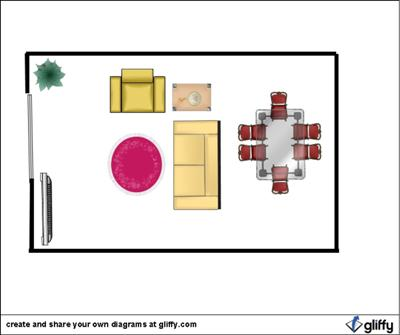 Plan Using A Sofa As A Room Divider