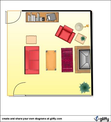 Arranging A Small Rectangular Living Room With Large Window