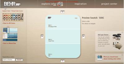 Explore Color with Behr Color Smart