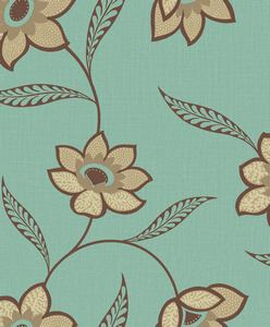 Blue And Taupe Wallpaper