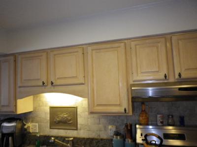 Plain Kitchen Soffit Area
