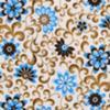 The Gallery Sarah's Garden Flourish Cream/Brown/Turquoise