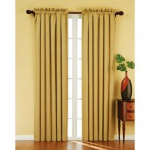 Golden Sand Curtains - Walmart
