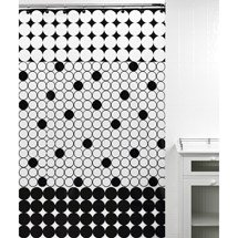 City Dots Shower Curtain from Walmart